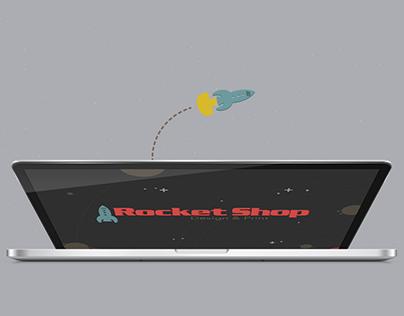 Rocket Shop Branding