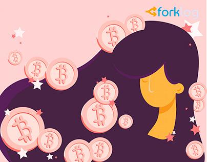 Bitcoin Illustration, Cryptocurrency, Blockchain
