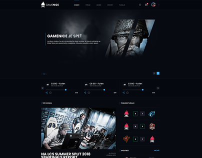 Gamenice Webdesign FOR SALE