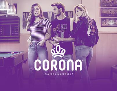 Corona - Campañas 2017