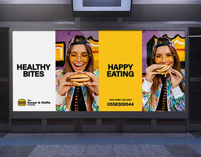 The Burger & Waffle Factory - Brand Identity