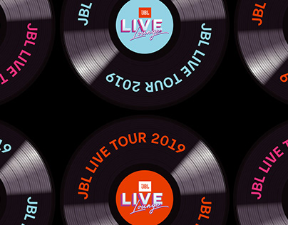 JBL Live Lounge Tour Design