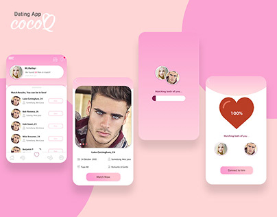 COCOQ - Dating App Concept