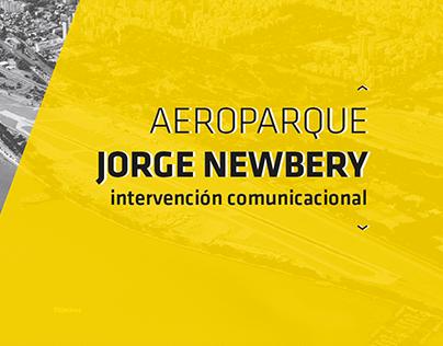 Aeroparque Jorge Newbery /intervención comunicacional
