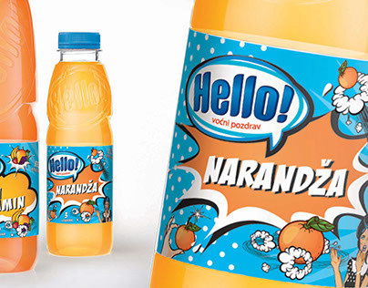 Fruit Juice Packaging Concepts