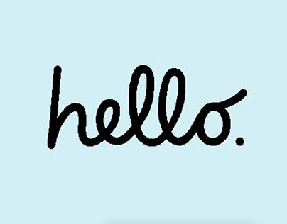 Macintosh says hello