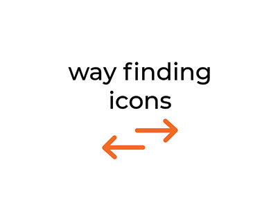 Way Finding Icons