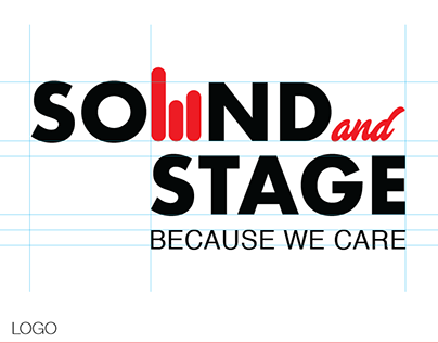 Sound and Stage - Brand Identity