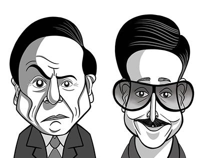 Magazine's Caricatures
