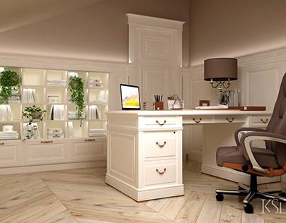 KSD-design. Mansards office