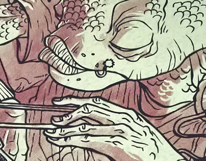 Sushi ScreenPrint