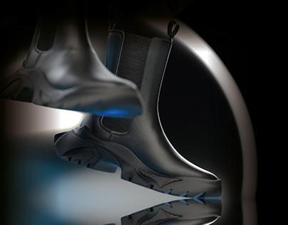3D Polar Boot Concept