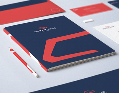 Rent a care Brand Identity and UI/UX design