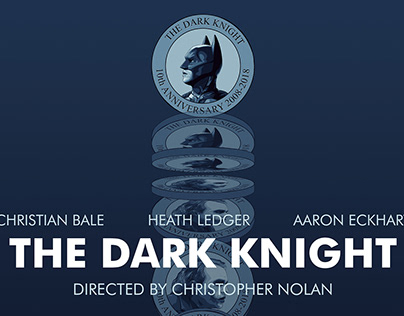 The Dark Knight 10th Anniversary MOTION POSTER