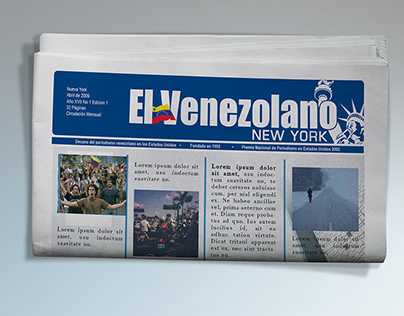 El Venezolano • Creación de Imagen Gráfica