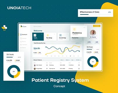 Patient Registry System - Concept
