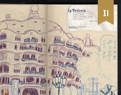Sketch | travel at Spain