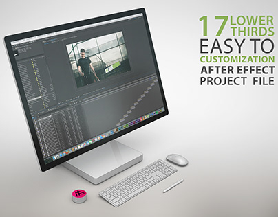 17 Lower Thirds Kit - After Effect Project