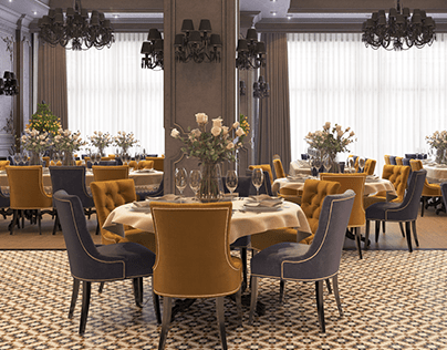 Restaurant Interior Design ''MEAT GARDEN''