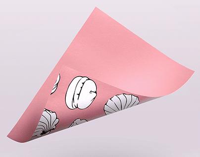 Marshmallow packaging design