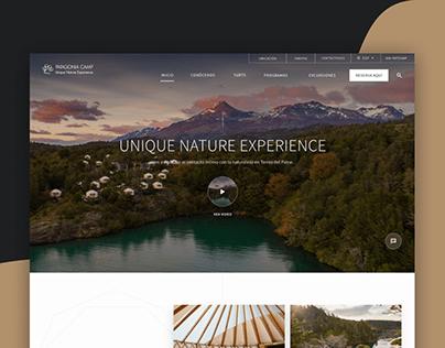 Patagonia Camp - Sitio Web