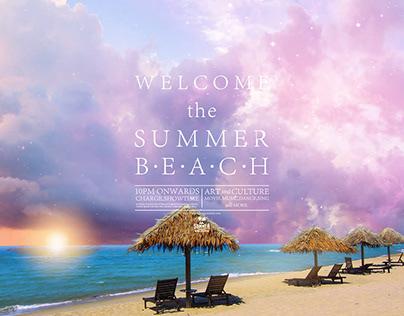 WELCOME the SUMMER BEACH