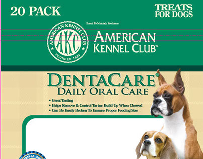Package Design - Pet Brands, Inc. - AKC Dentacare Line