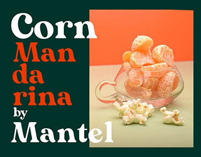 Corn Mandarine - Mantel PhotoStudio