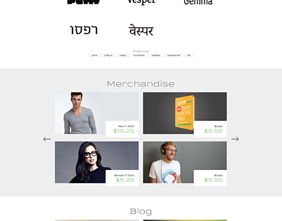 Mota Italic - WordPress Design