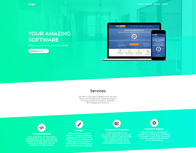 CleverLabs' new website design