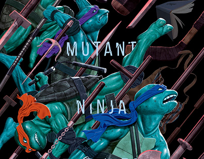 Teenage Mutant Ninja Turtles - Bottleneck Gallery