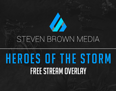 Free Stream Overlay - Heroes of the Storm (2016)