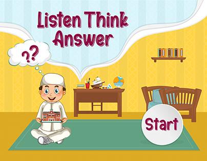 LISTEN THINK ANSWER