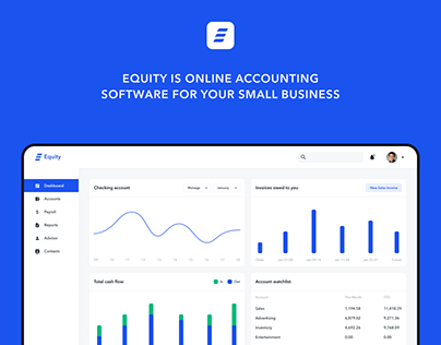 Equity - A Online Accounting Software Design