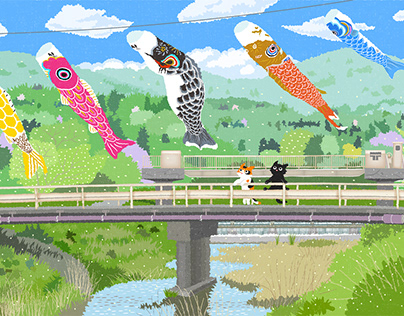TABINEKO-Sky fish