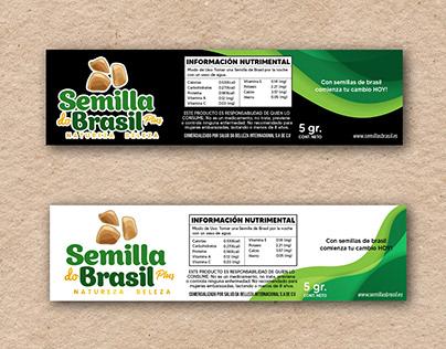 Semilla do Brasil - Etiqueta