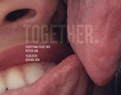 Together poster for Poster Jam Instagram