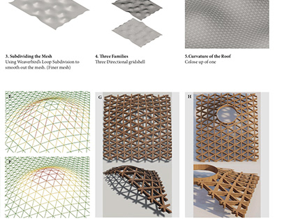 3-Way Geodesic Gridshell : Adaptation and Analysis