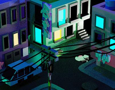 Cidadezinha no Blender