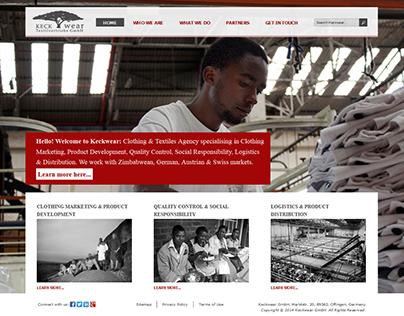 Keckwear Consultancy Website