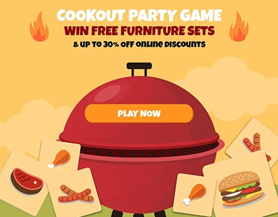 Cookout Party Game | Interactive Campaign