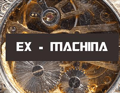 EX-MACHINA   INSTALLATION INTERACTIVE