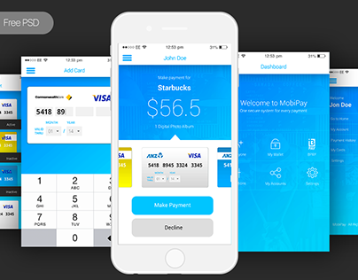 FREE PSD - Mobile Bank Payment App - Payment App