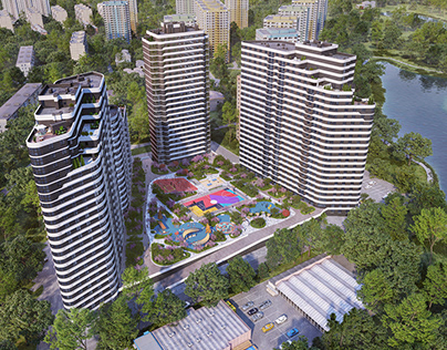 Residential quarter Park Lakes stage 2