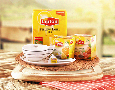 Social Media And Advertising Collection Of Lipton Tea