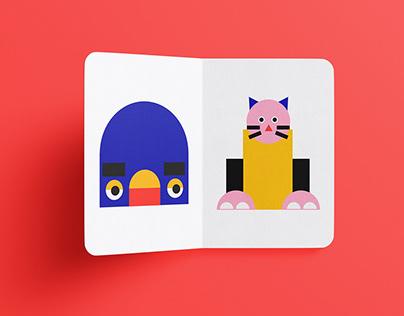 Creating Faces Children's book