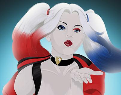 Harley Quinn Rebirth Fanart