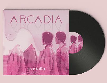 """Album Cover Design """"Arcadia"""""""