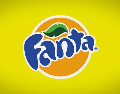 Animation logo Fanta