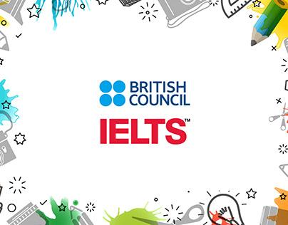 British Council & IELTS - 3D Design - 3 x 3